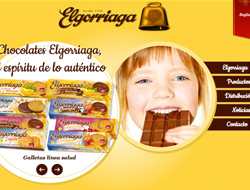 Chocolates Elgorriaga web corporativa