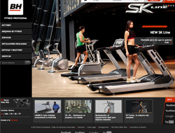 BH Fitness web corporativa