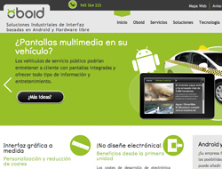 Oboid web corporativo